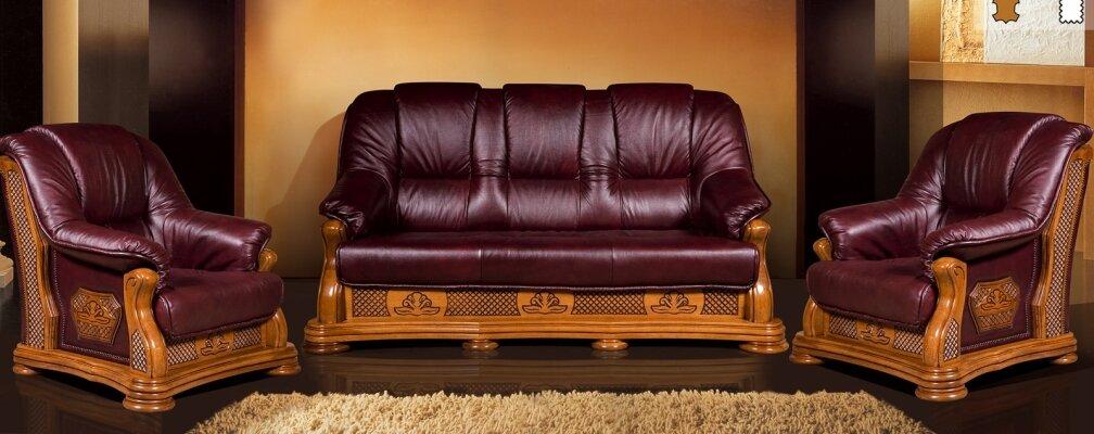 Ремонт кожанной мебели
