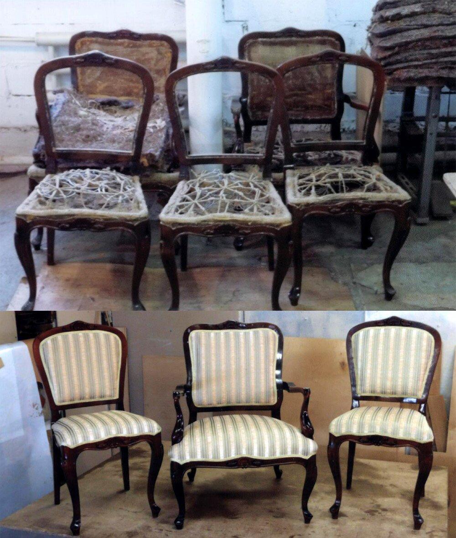 стулья перетяжка